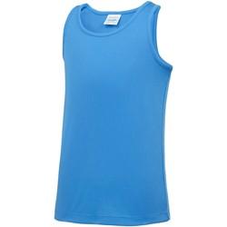 Kleidung Kinder Tops Awdis JC07J Sapphire Blau