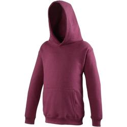 Kleidung Kinder Sweatshirts Awdis JH01J Burgunder