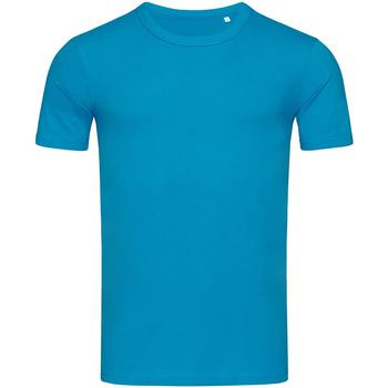 Kleidung Herren T-Shirts Stedman Stars Morgan Hawaii Blau