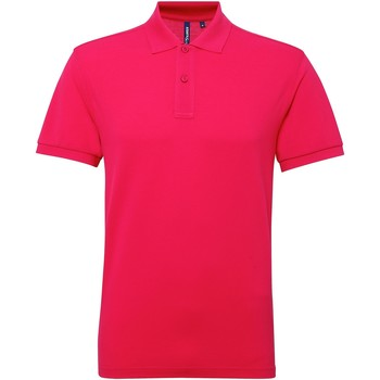 Kleidung Herren Polohemden Asquith & Fox AQ015 Dunkles Pink