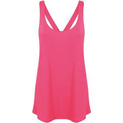 Kleidung Damen Tops / Blusen Skinni Fit Workout Neon Pink