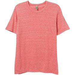 Kleidung Herren T-Shirts Alternative Apparel AT001 Eco-Rot