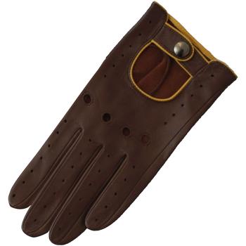 Accessoires Damen Handschuhe Eastern Counties Leather Driving Braun/Ocker