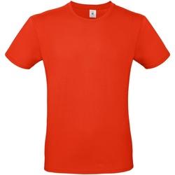 Kleidung Herren T-Shirts B And C TU01T Feuerrot