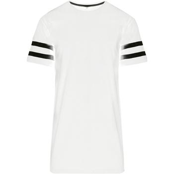 Kleidung Herren T-Shirts Build Your Brand BY032 Weiß/Schwarz