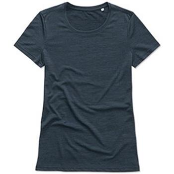 Kleidung Damen T-Shirts Stedman  Marineblau meliert