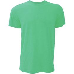 Kleidung Herren T-Shirts Bella + Canvas CA3001 Kellygrün meliert