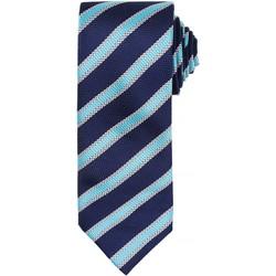 Kleidung Herren Krawatte und Accessoires Premier  Marineblau / Türkis