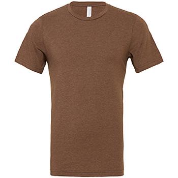 Kleidung Herren T-Shirts Bella + Canvas CA3001 Braun meliert