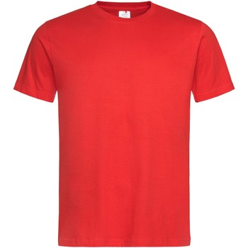 Kleidung Herren T-Shirts Stedman Stars  Scharlachrot