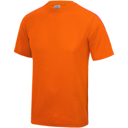 Kleidung Kinder T-Shirts Awdis JC01J Leuchtorange