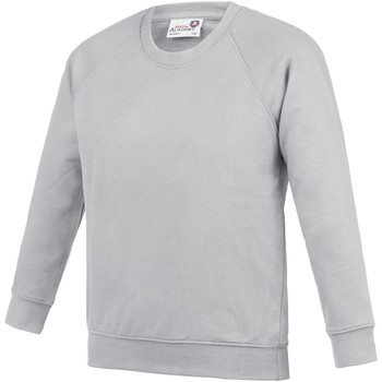 Kleidung Kinder Sweatshirts Awdis  Grau