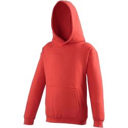 Kleidung Kinder Sweatshirts Awdis JH01J Feuerrot