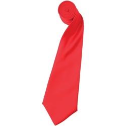 Kleidung Herren Krawatte und Accessoires Premier Satin Erdbeerrot
