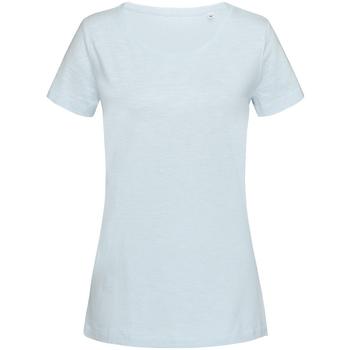 Kleidung Damen T-Shirts Stedman Stars Sharon Pastellblau