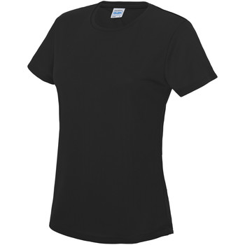 Kleidung Damen T-Shirts Awdis JC005 Tiefschwarz