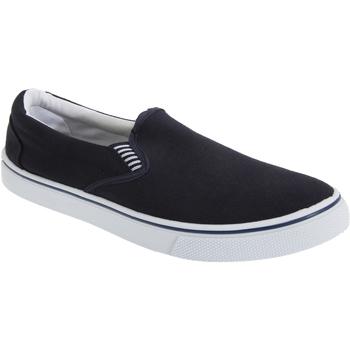 Schuhe Herren Slip on Dek  Marineblau