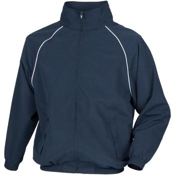 Kleidung Herren Jacken Tombo Teamsport TL400 Marineblau/Weiße Farbakzente