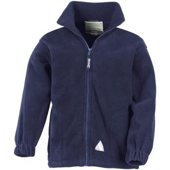 Kleidung Kinder Fleecepullover Result R36JY Marineblau