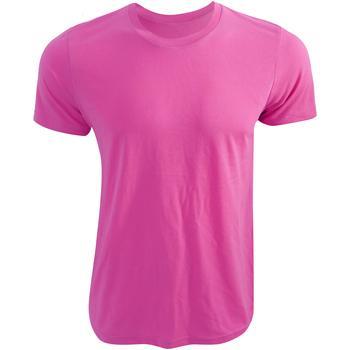 Kleidung T-Shirts Bella + Canvas CA3650 Neonpink