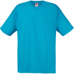 Kleidung Herren T-Shirts Universal Textiles 61082 Cyan