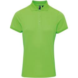 Kleidung Damen Polohemden Premier PR616 Neon Grün