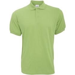 Kleidung Herren Polohemden B And C PU409 Pistazie