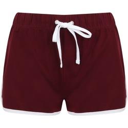 Kleidung Damen Shorts / Bermudas Skinni Fit SK069 Rot