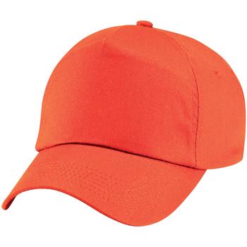 Accessoires Kinder Schirmmütze Beechfield BC10B Orange