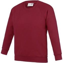 Kleidung Kinder Sweatshirts Awdis  Claret