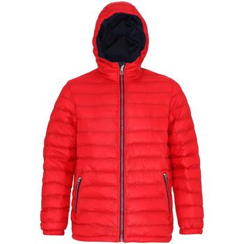 Kleidung Herren Daunenjacken 2786 TS016 Rot/Marineblau
