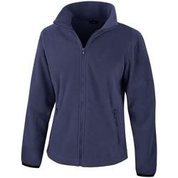 Kleidung Damen Fleecepullover Result Core Marineblau