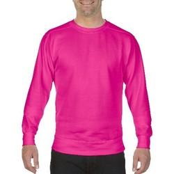 Kleidung Herren Sweatshirts Comfort Colors CO040 Neon Pink