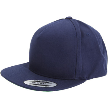 Accessoires Schirmmütze Yupoong  Marineblau