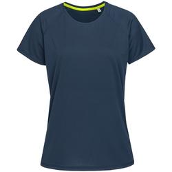 Kleidung Damen T-Shirts Stedman  Blau