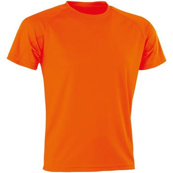 Kleidung Herren T-Shirts Spiro Aircool Flo Orange