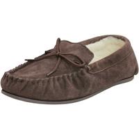 Schuhe Slipper Eastern Counties Leather  Schokoladenbraun