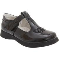 Schuhe Mädchen Ballerinas Boulevard  Schwarz glänzend