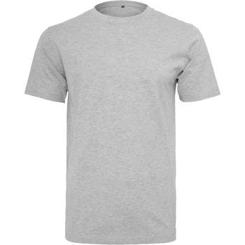Kleidung Herren T-Shirts Build Your Brand BY004 Grau meliert