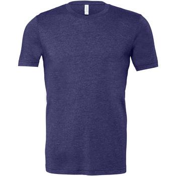 Kleidung Herren T-Shirts Bella + Canvas CA3001 Marineblau dunkel meliert