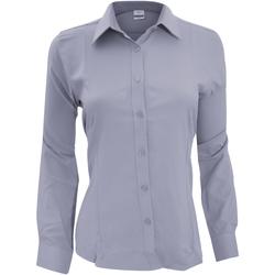 Kleidung Damen Hemden Henbury Wicking Schiefergrau