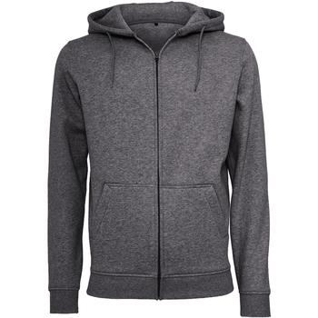 Kleidung Herren Sweatshirts Build Your Brand BY012 Anthrazit