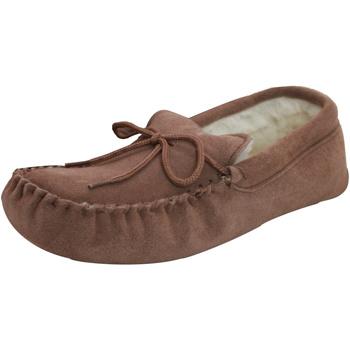 Schuhe Slipper Eastern Counties Leather  Kamelfarben