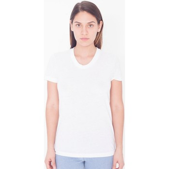 Kleidung Damen T-Shirts American Apparel PL301W Weiß