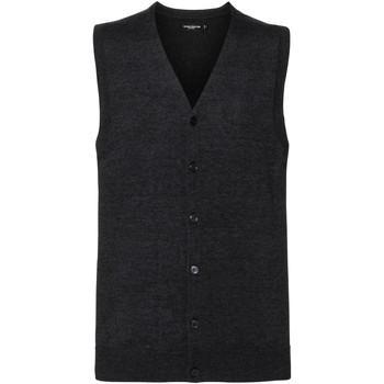 Kleidung Herren Strickjacken Russell J719M Grau