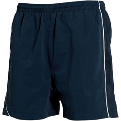 Kleidung Herren Shorts / Bermudas Tombo Teamsport TL081 Marineblau/Marineblau/Weiß