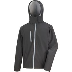 Kleidung Herren Windjacken Result R230M Schwarz/Grau