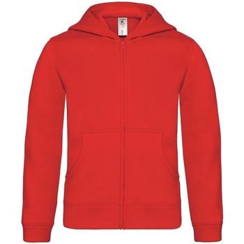 Kleidung Kinder Sweatshirts B And C B421B Rot