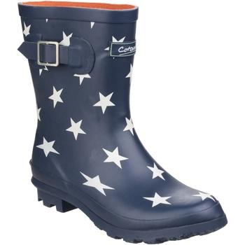 Schuhe Damen Gummistiefel Cotswold Badminton Sternemuster
