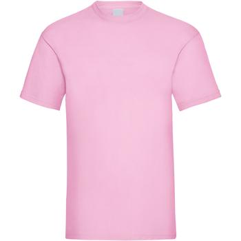 Kleidung Herren T-Shirts Universal Textiles 61036 Pastell Pink
